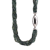 Collier Saphir Diamanten