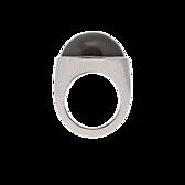 Ring Mondstein grau