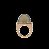 Ring Mondstein grün