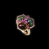Opal-Saphir-Ring